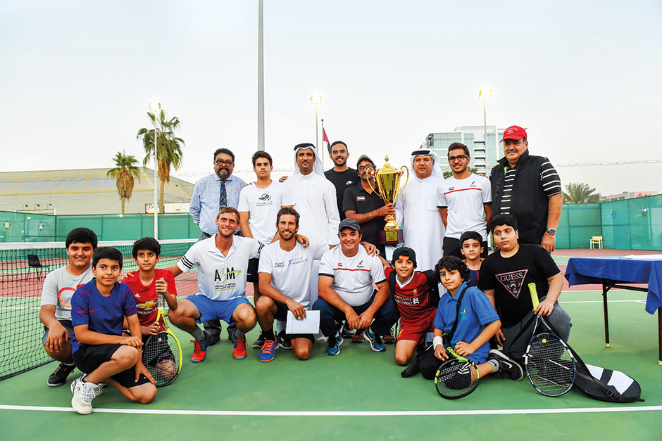 Uae Philippines Triumph In Nations Cup Tennis