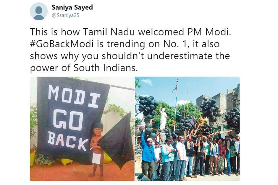 Will Telugu states copycat GoBackModi campaign?