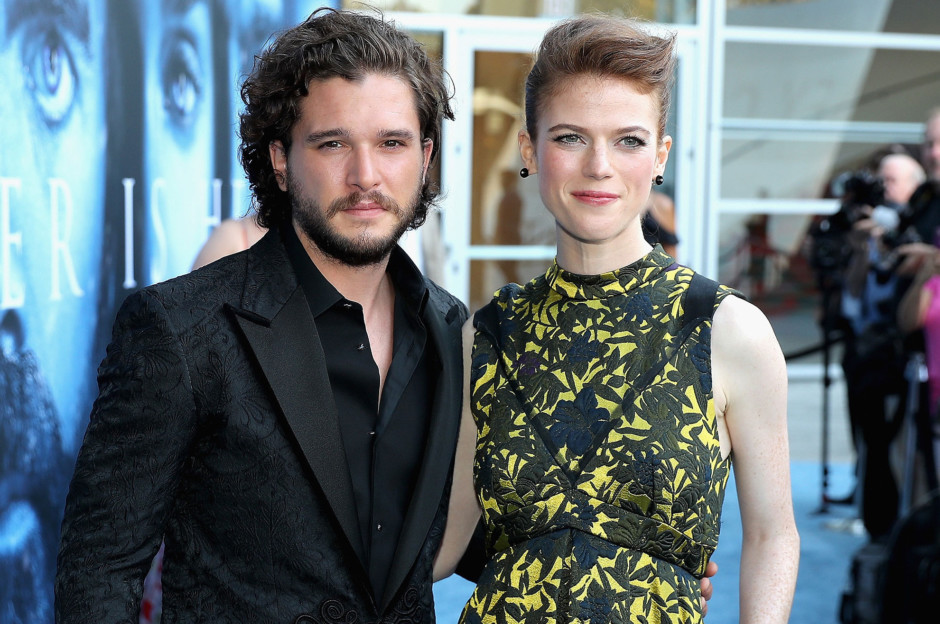 Kit Harington Rose Leslie To Marry In June
