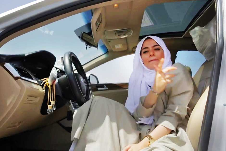 Video Saudi Woman Releases Hijazi Rap Song On Women Driving