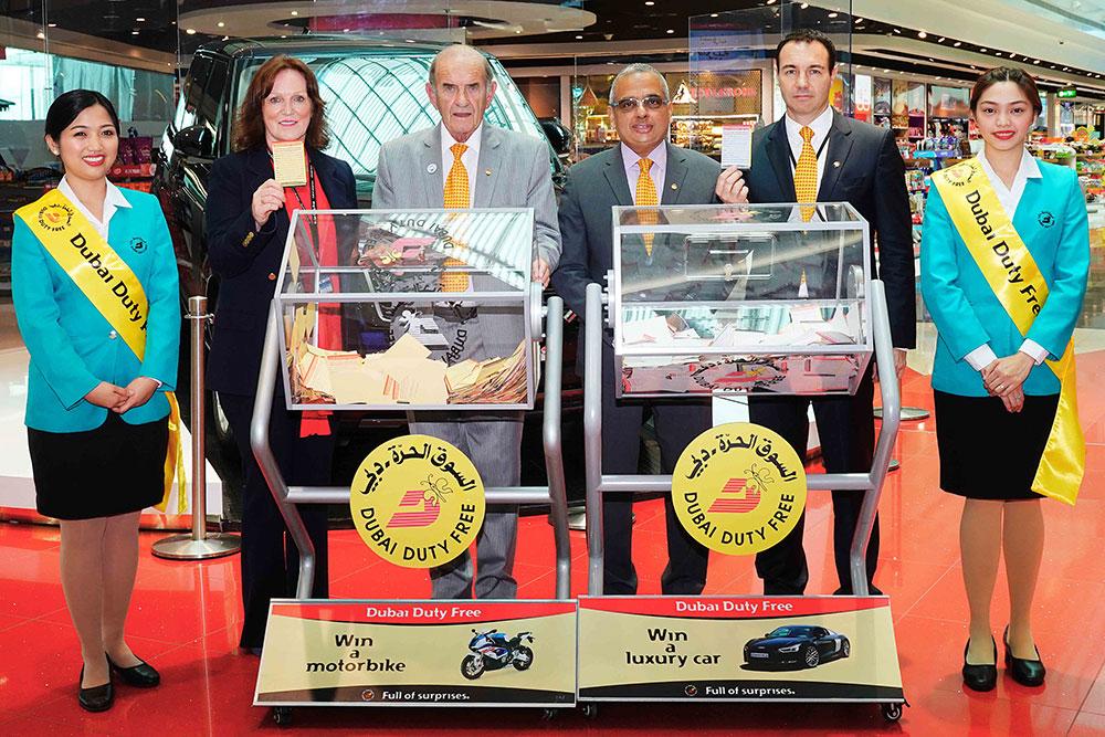 Lebanese Wins 1 Million In Dubai Duty Free Draw