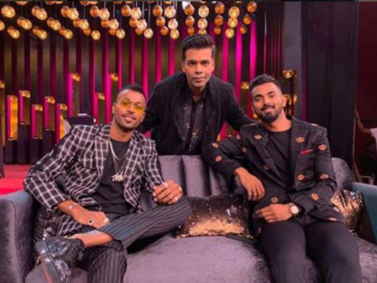Indian cricketers spark sexism row on 'Koffee with Karan'
