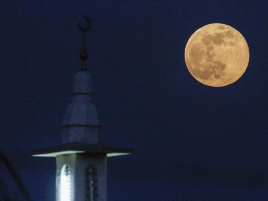 blood moon eclipse dubai - photo #27