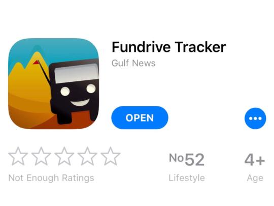 Have you downloaded the Fun Drive tracker? Hurry...