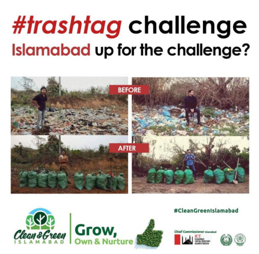 Viral News Pakistan Home: Hashtag #trashtag Viral In Pakistan