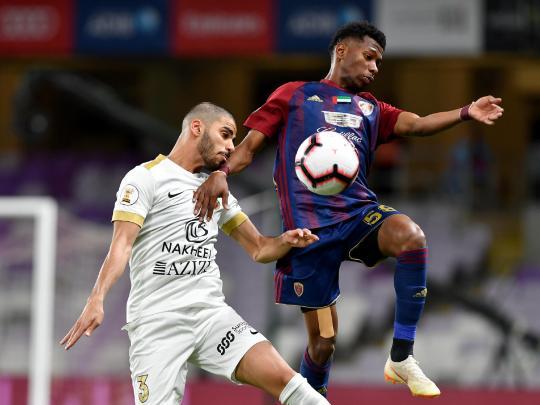 Shabab Al Ahli secure Arabian Gulf Cup title
