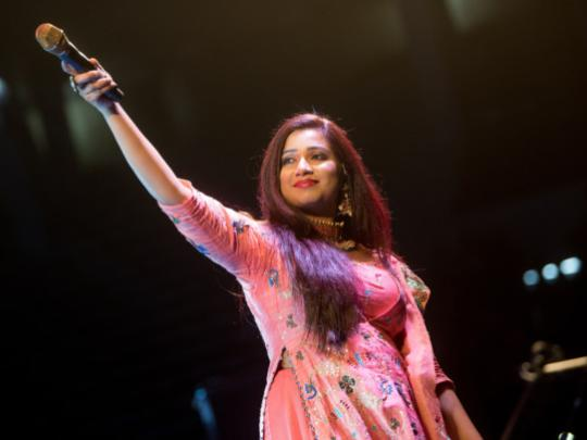 Shreya Ghoshal to perform at Bollywood Parks Dubai