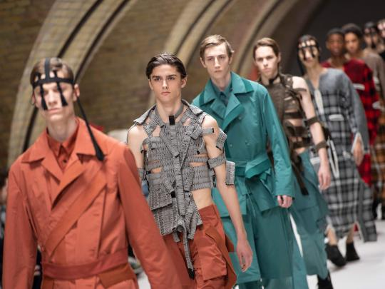 London Fashion Week goes khaki and Pokemon