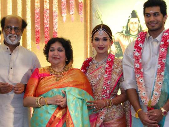 Soundarya Rajinikanth marries Vishagan in grand ceremony